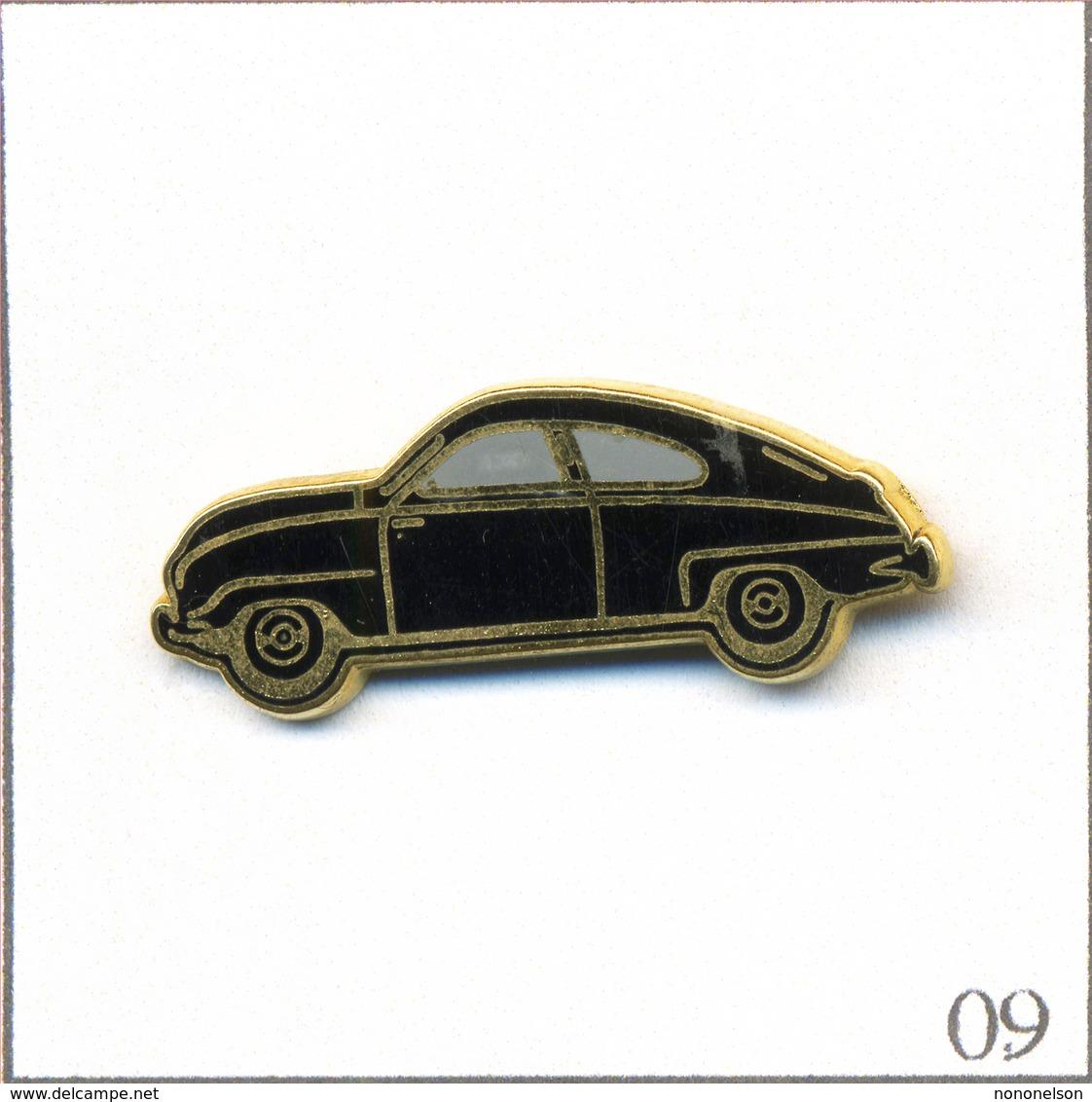 Pin's Automobile - Saab / Modèle 92 De 1949. Estampillé Made In France. Zamac. T580-09 - Pin's
