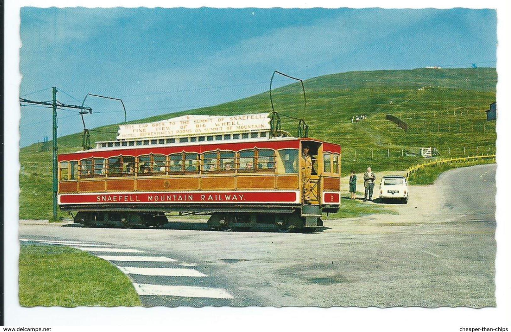 "Snaefell Summit And Mountain Railway - Bamforth ""color Gloss"" - Isle Of Man"