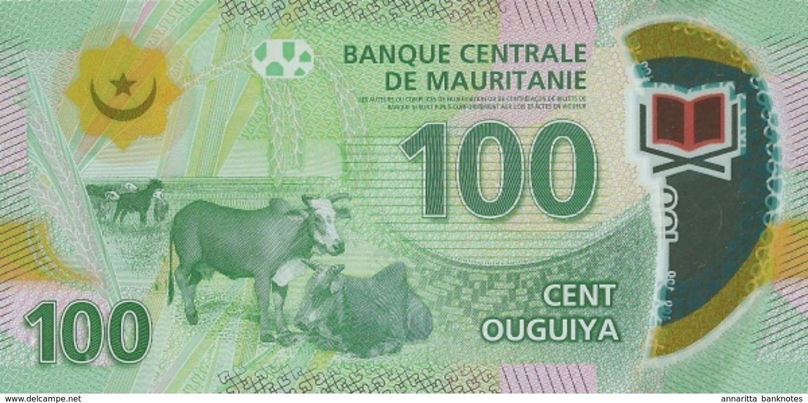MAURITANIA 100 OUGUIYA 2017 P-23a UNC [MR127a] - Mauritania