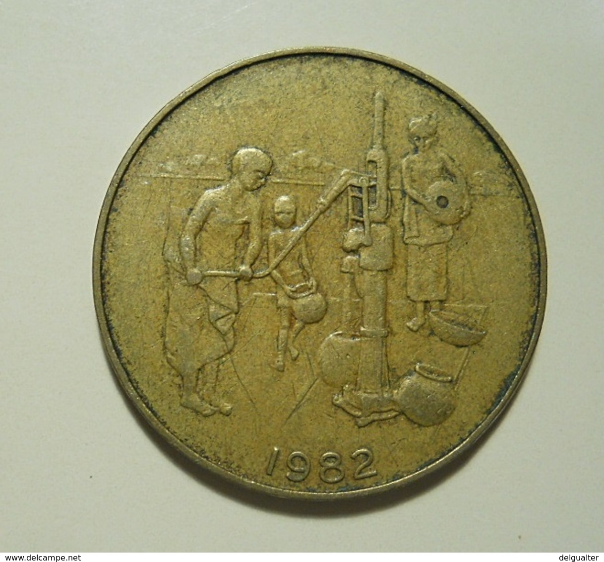 West African States 10 Francs 1982 - Monnaies