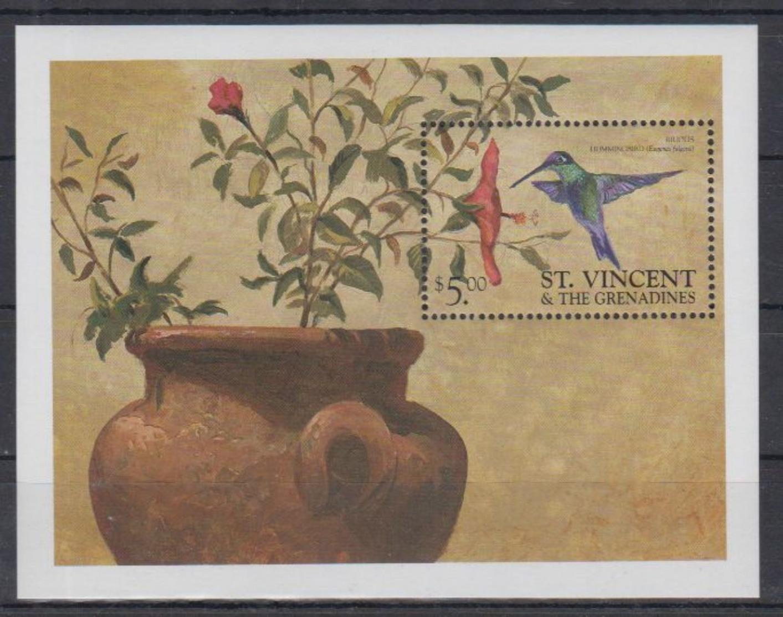 B05. St Vincent - MNH - Animals - Birds - Birds