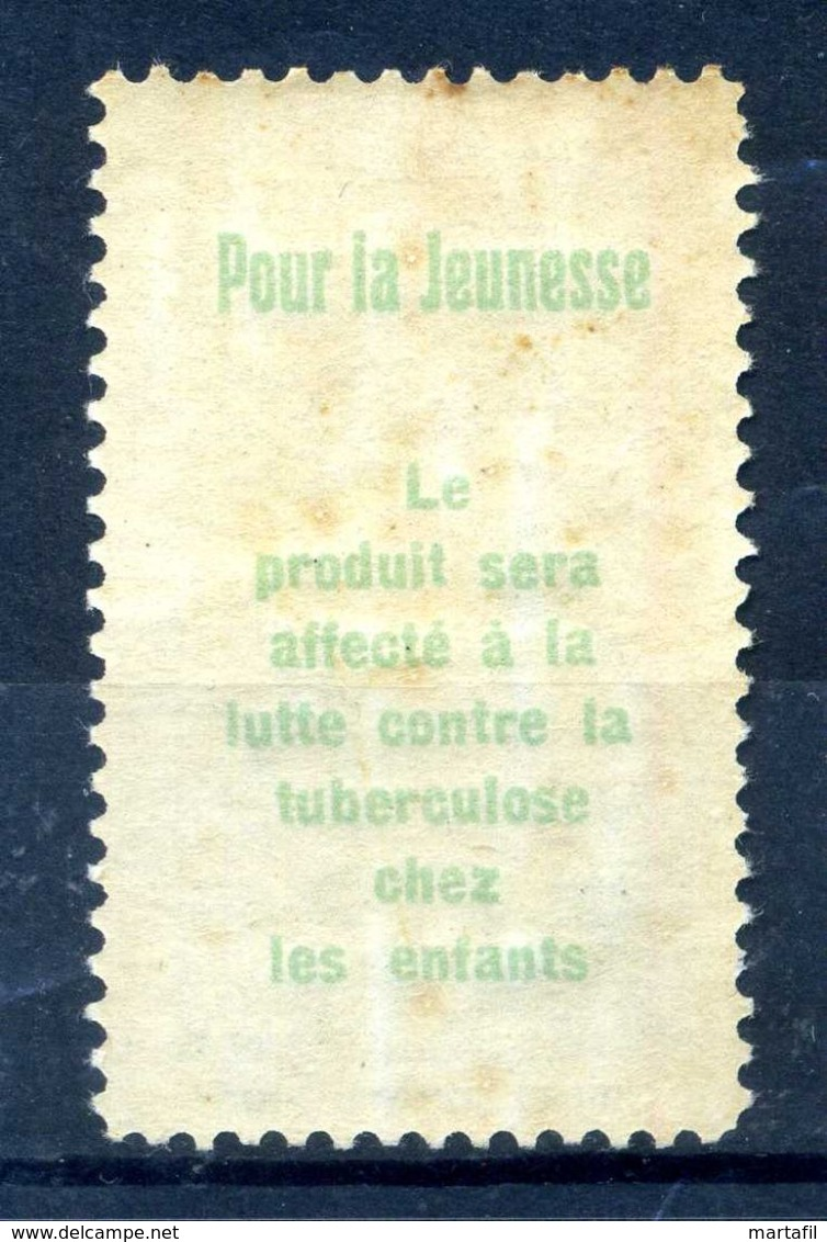 1912 SVIZZERA N.B PRECURSORI PRO-JUVENTUTE * - Svizzera
