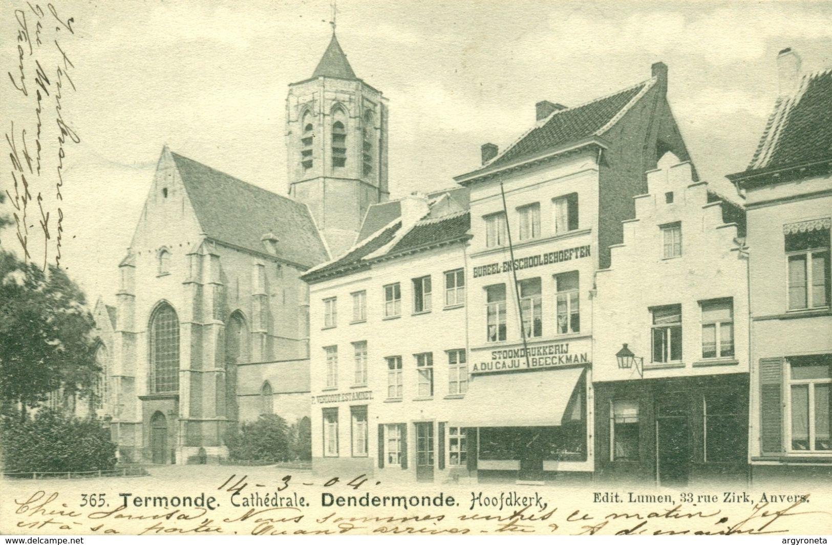 Dendermonde - Hoofdkerk - Kerkstraat - Lumen 365 - Dendermonde