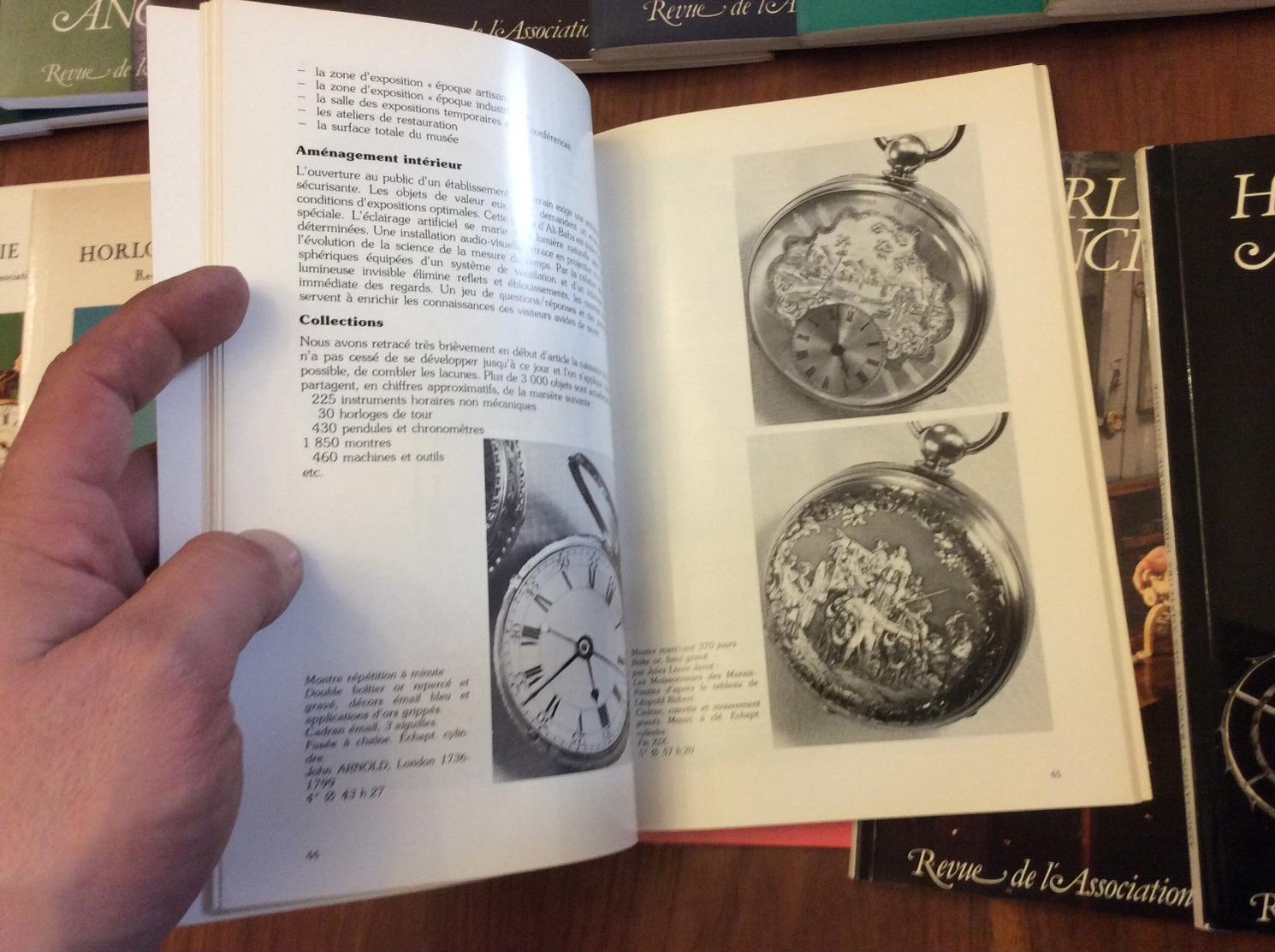 Horlogerie Ancienne Revue De L Association Française Les 20 Première Numéro - Bijoux & Horlogerie