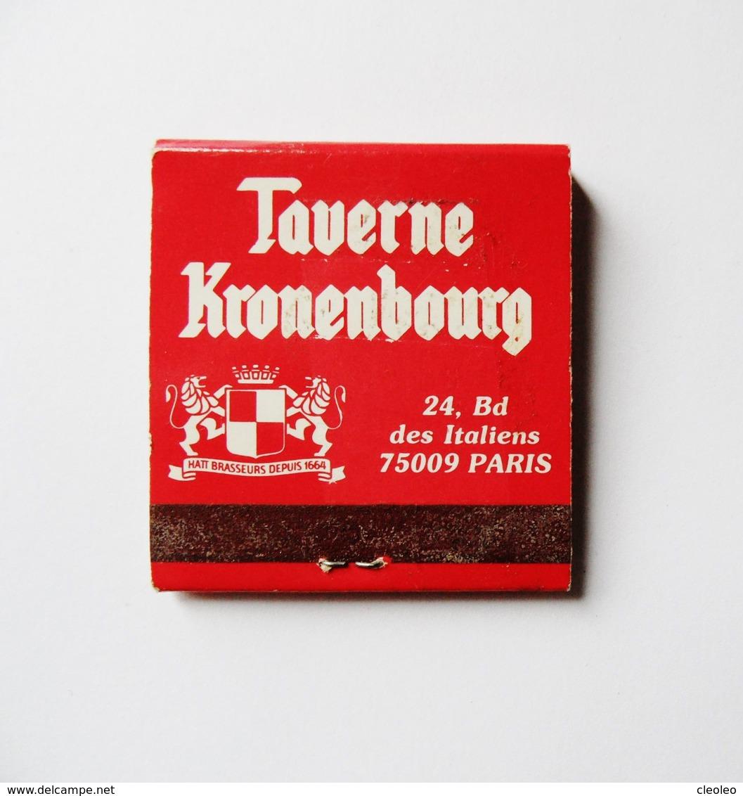 Pochette D'allumettes Taverne Kronenbourg Paris - Boites D'allumettes