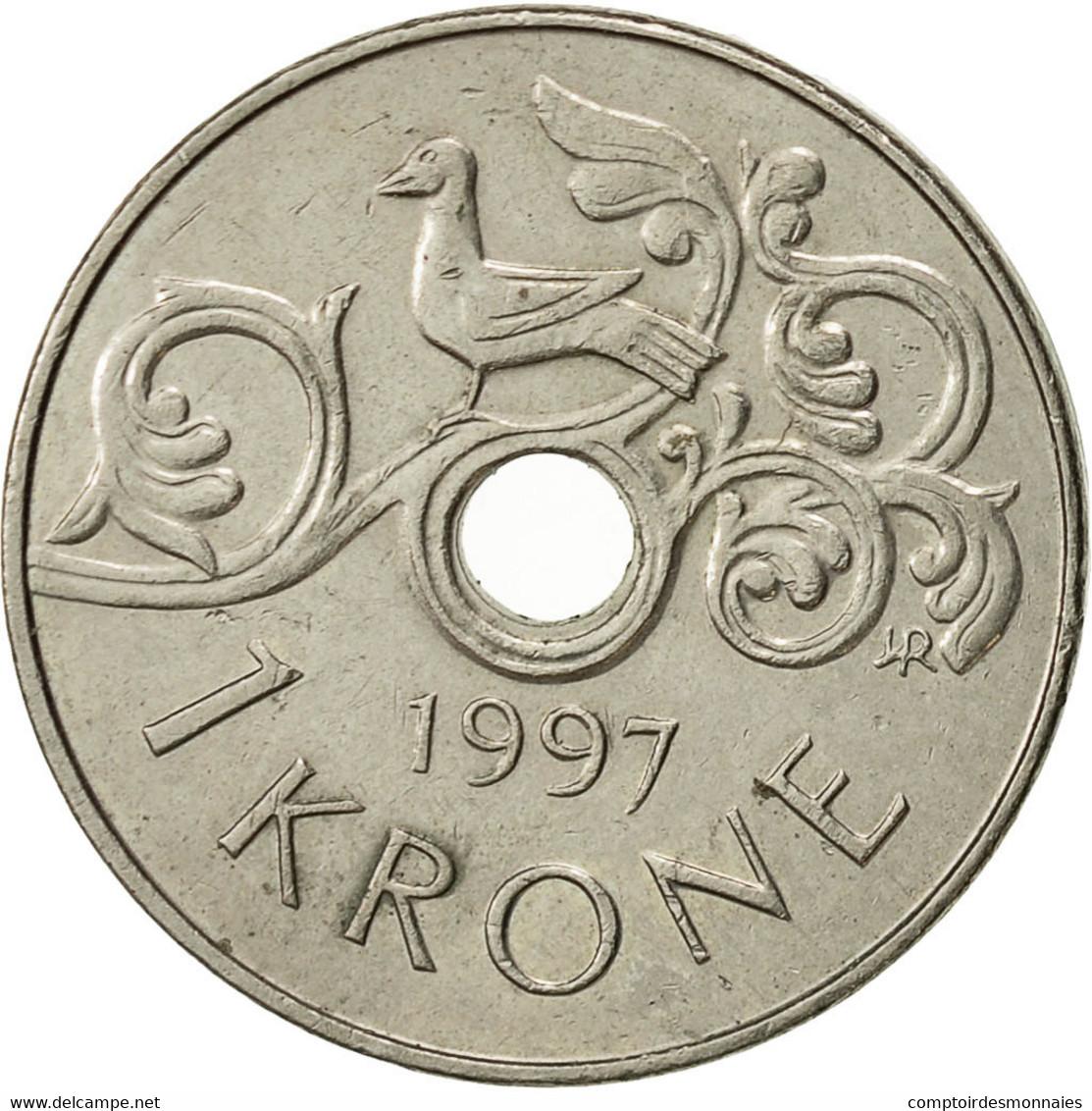 Norvège, Harald V, Krone, 1997, TTB+, Copper-nickel, KM:462 - Norvège