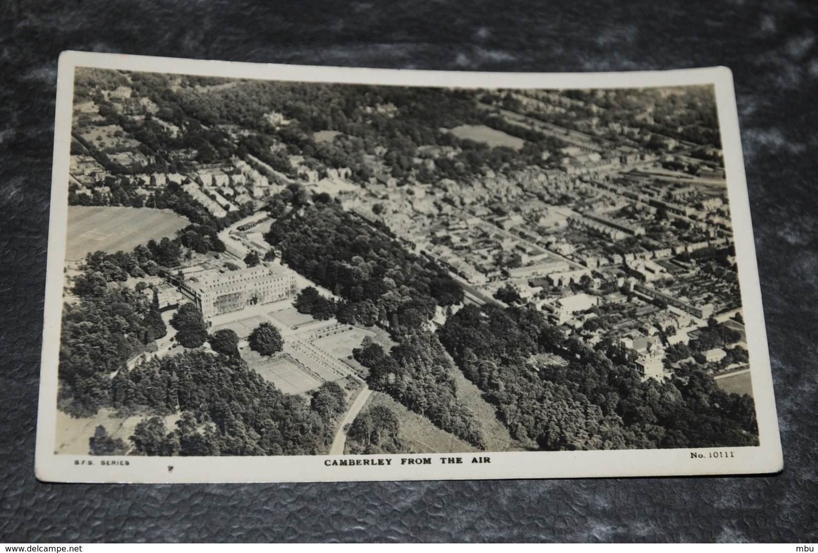 1510    Camberley From The Air   1935 - Surrey