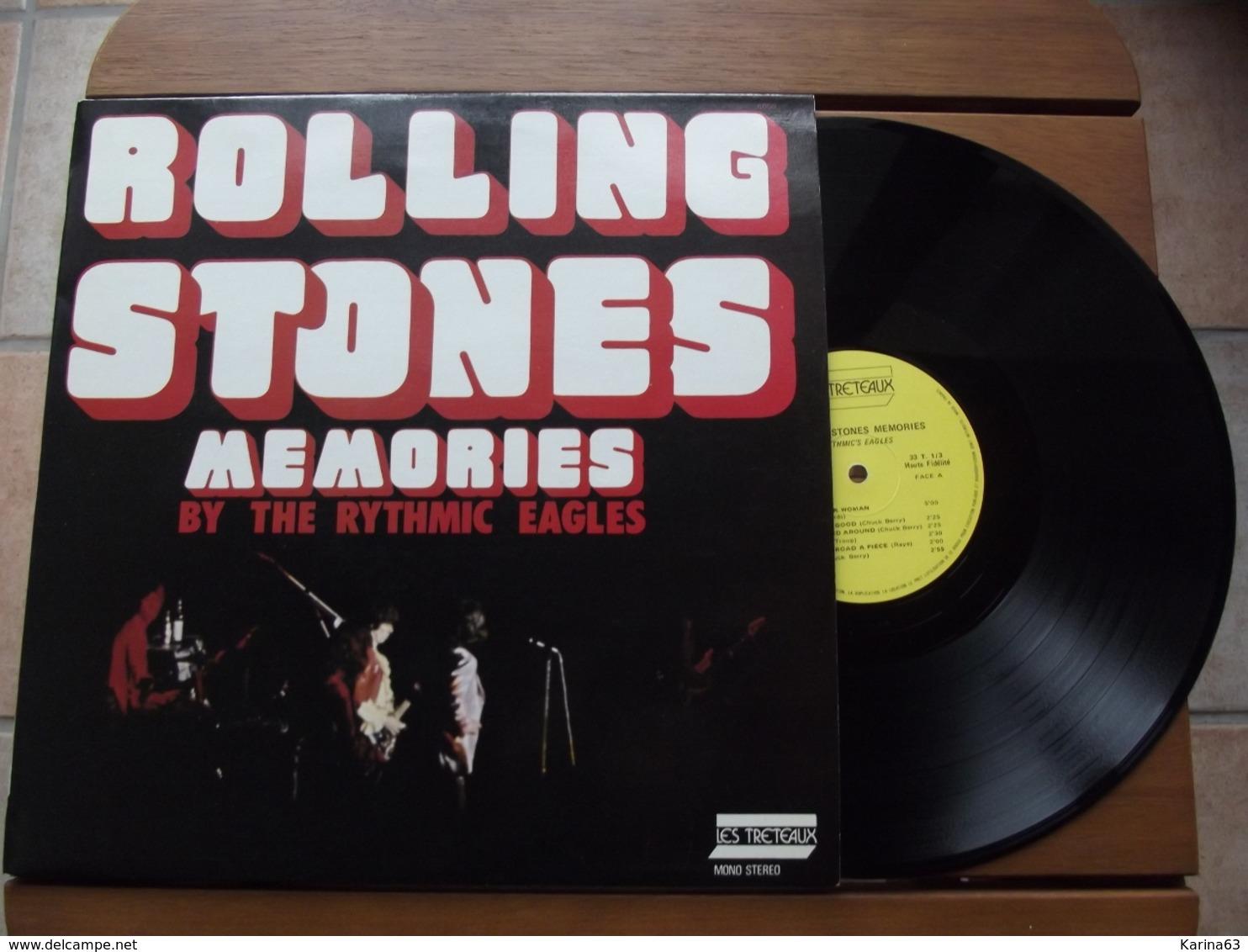 Rythmic Eagles  – Rolling Stones Memories  - 1976 - Rock