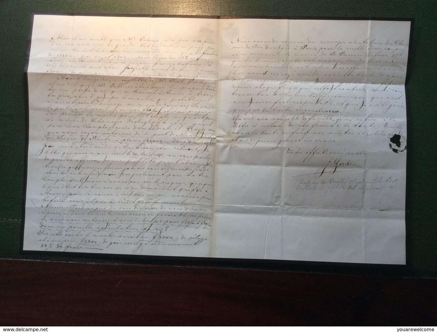 1848 DRIEBERGEN (Utrecht Netherlands) Cover > CHUR (GR) Schweiz (Zürich Prephilately Vorphilatelie Brief Baden Lettre - Nederland