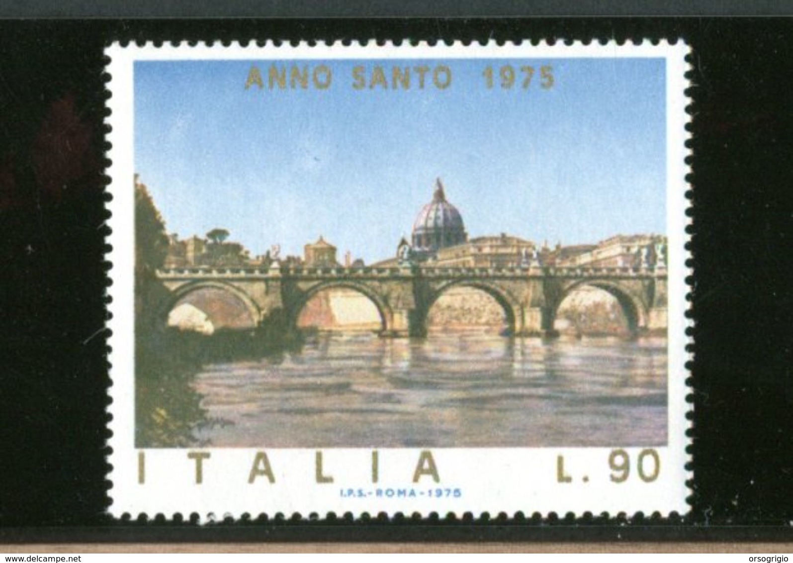 ITALIA - ROMA - PONTE SANT'ANGELO - CUPOLONE - Ponti