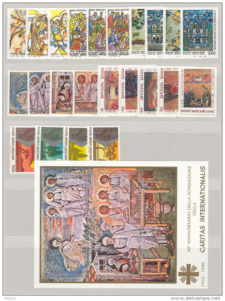 Vaticano 1990 Annata Completa/Complete Year MNH/** - Vaticano