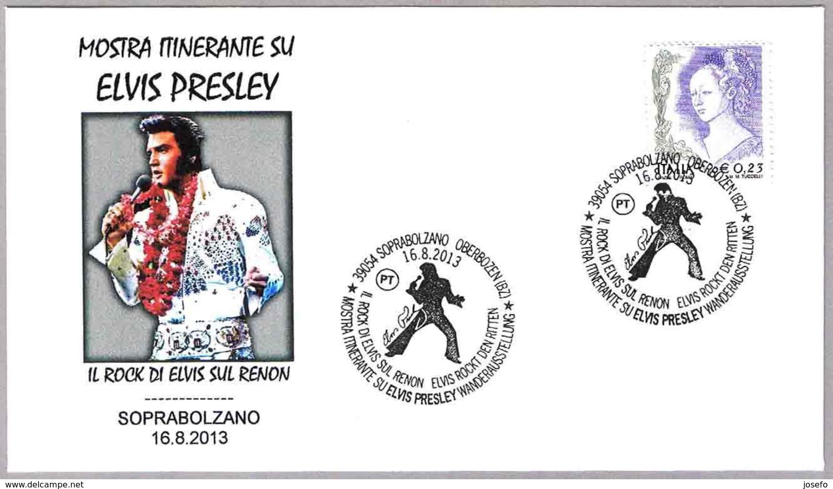 Exposicion Itinerante Sobre ELVIS PRESLEY. Soprabolzano 2013 - Elvis Presley