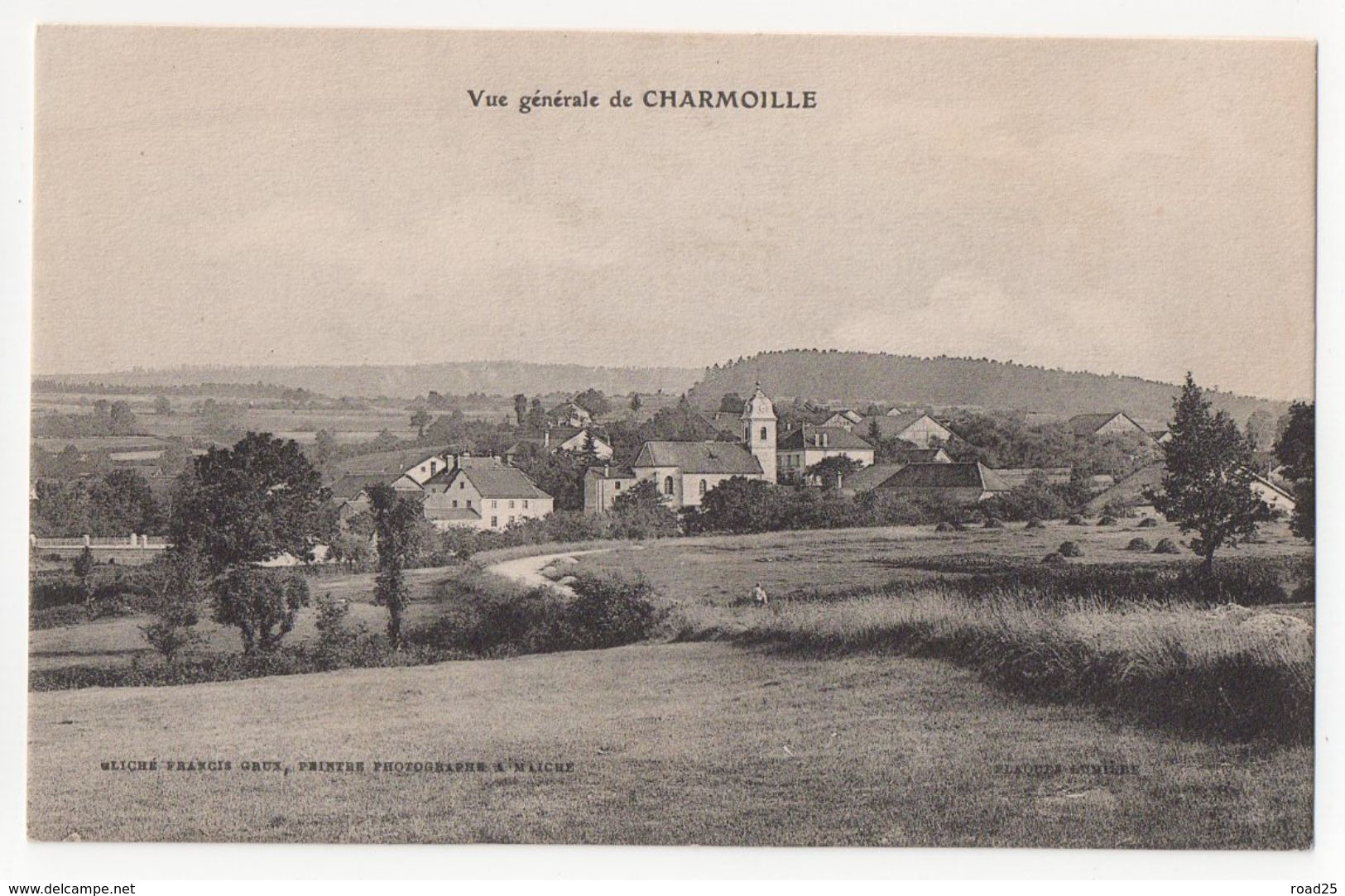 ( 25 ) Lot De 95 Cartes Postales Anciennes Du Département Du Doubs - Cartes Postales