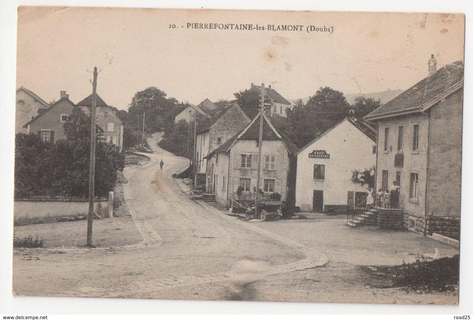 ( 25 ) Lot De 99 Cartes Postales Anciennes Du Département Du Doubs - Quelques Doubles - Cartes Postales