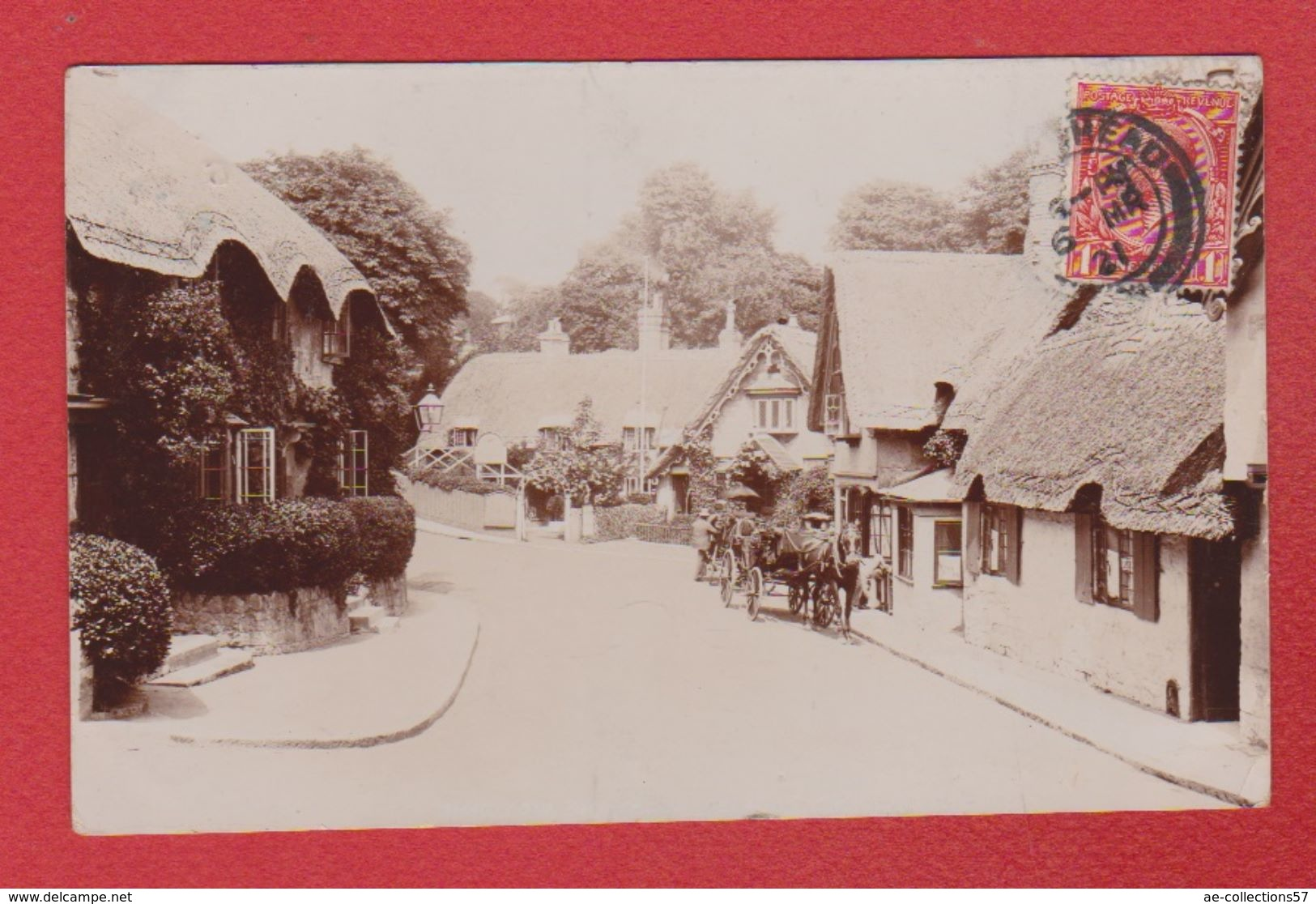 Shanklin  -  Carte Photo --  1921 - Angleterre