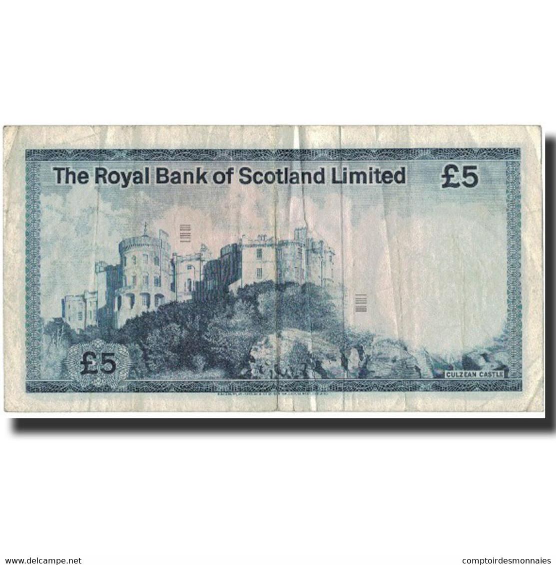 Billet, Scotland, 5 Pounds, 1976, 1976-05-03, KM:337a, TB - [ 3] Scotland