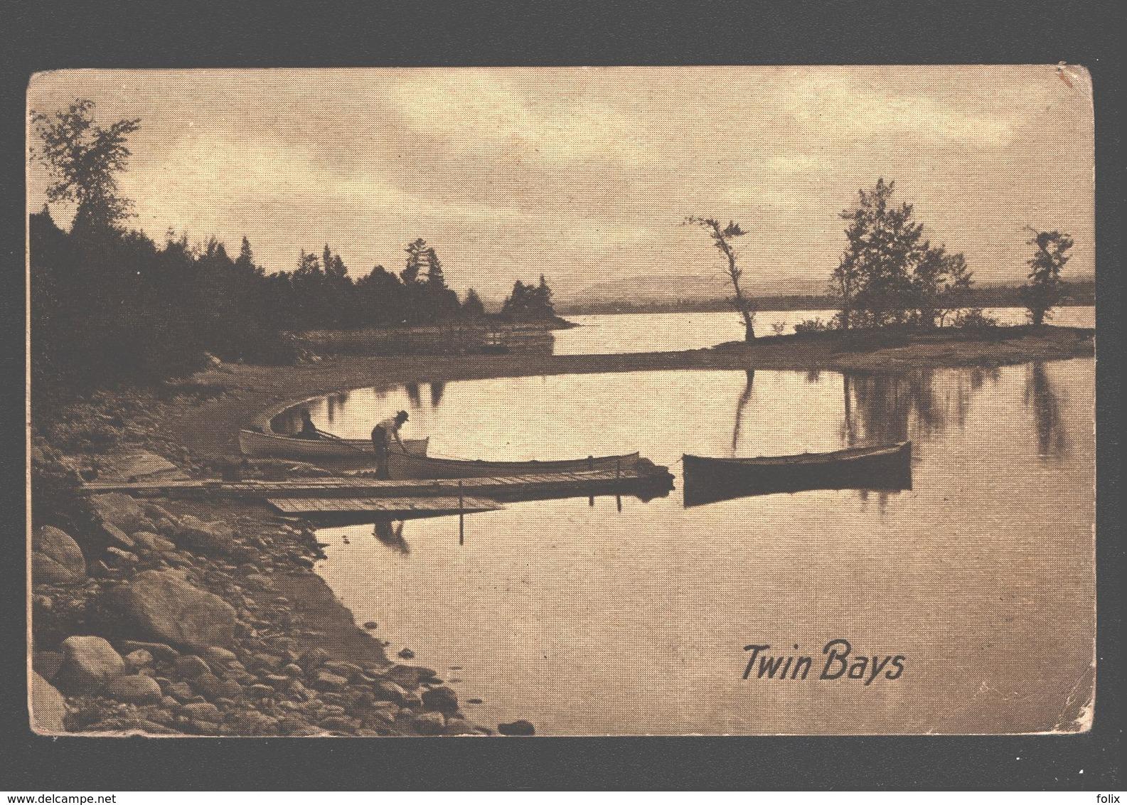 Lake Chaplain - Twin Bays - Champlain Series, Sheldon Ambertypes, Burlington, Vt. - 1909 - Non Classés
