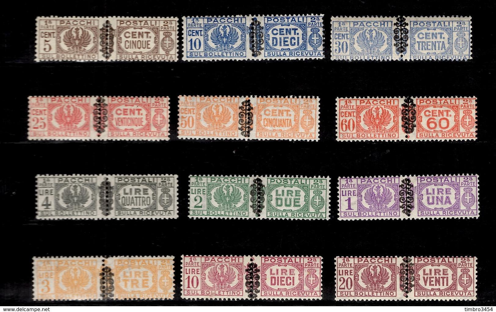 Italie Colis Postaux YT N° 34/45 Neufs ** MNH. TB. A Saisir! - Colis-postaux