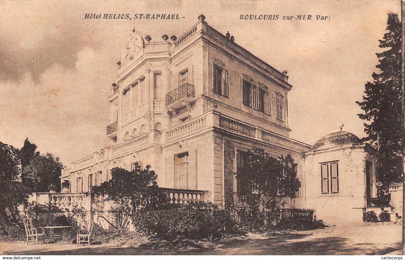 83 - Boulouris-sur-Mer - Hôtel St-Raphael - Boulouris