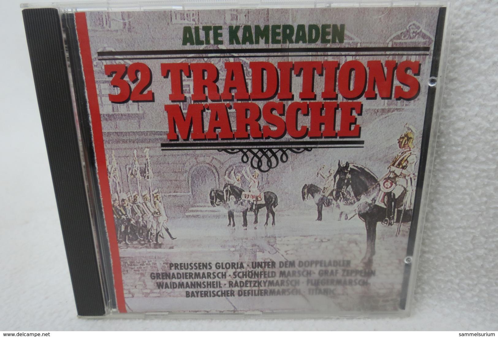 """2 CDs """"32 Traditions-Märsche"""" Alte Kameraden - Klassik"""