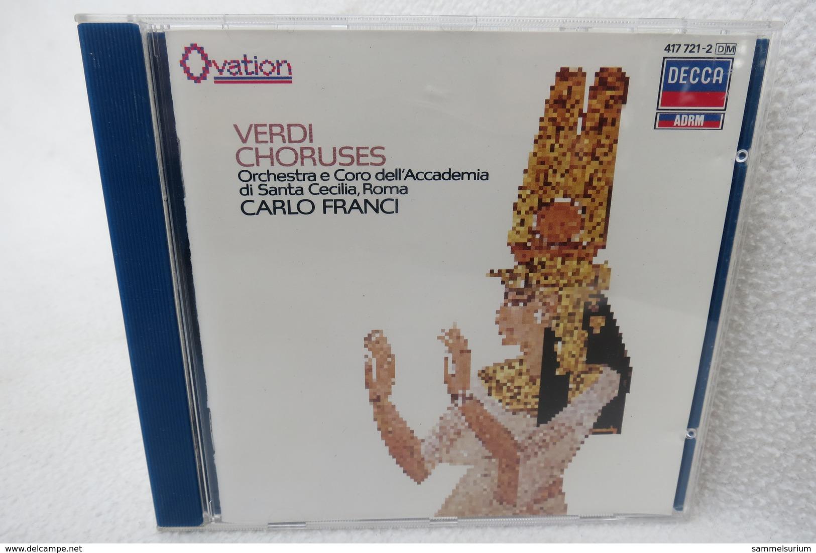 "CD ""Verdi"" Choruses, Accademia Di Santa Cecilia/Franci - Klassik"