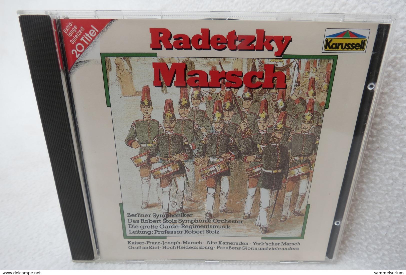"""CD """"Radetzky Marsch"""" 20 Titel, Extra Lange Spielzeit - Klassik"""