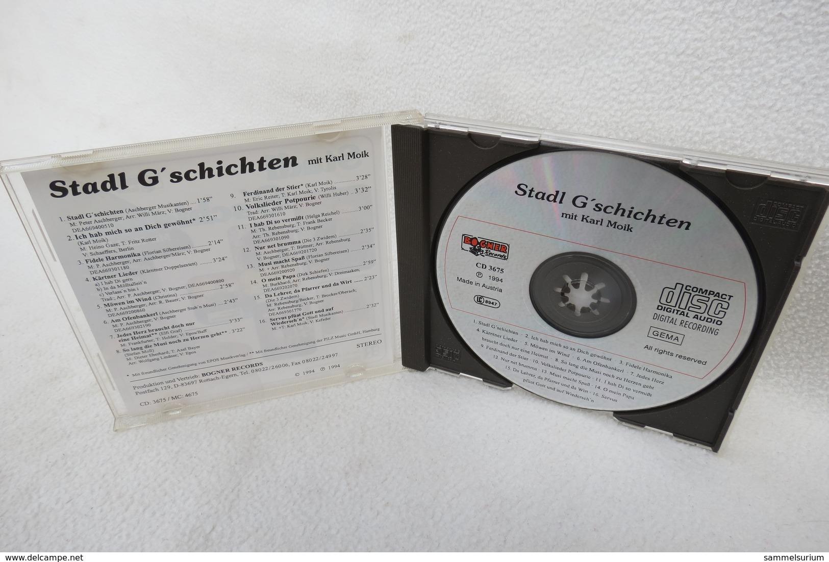 """CD """"Stadl G'schichten"""" Mit Karl Moik, Aus Der Gleichnamigen Fernseh-Reihe Im Bayerischen Rundfunk - Sonstige - Deutsche Musik"""
