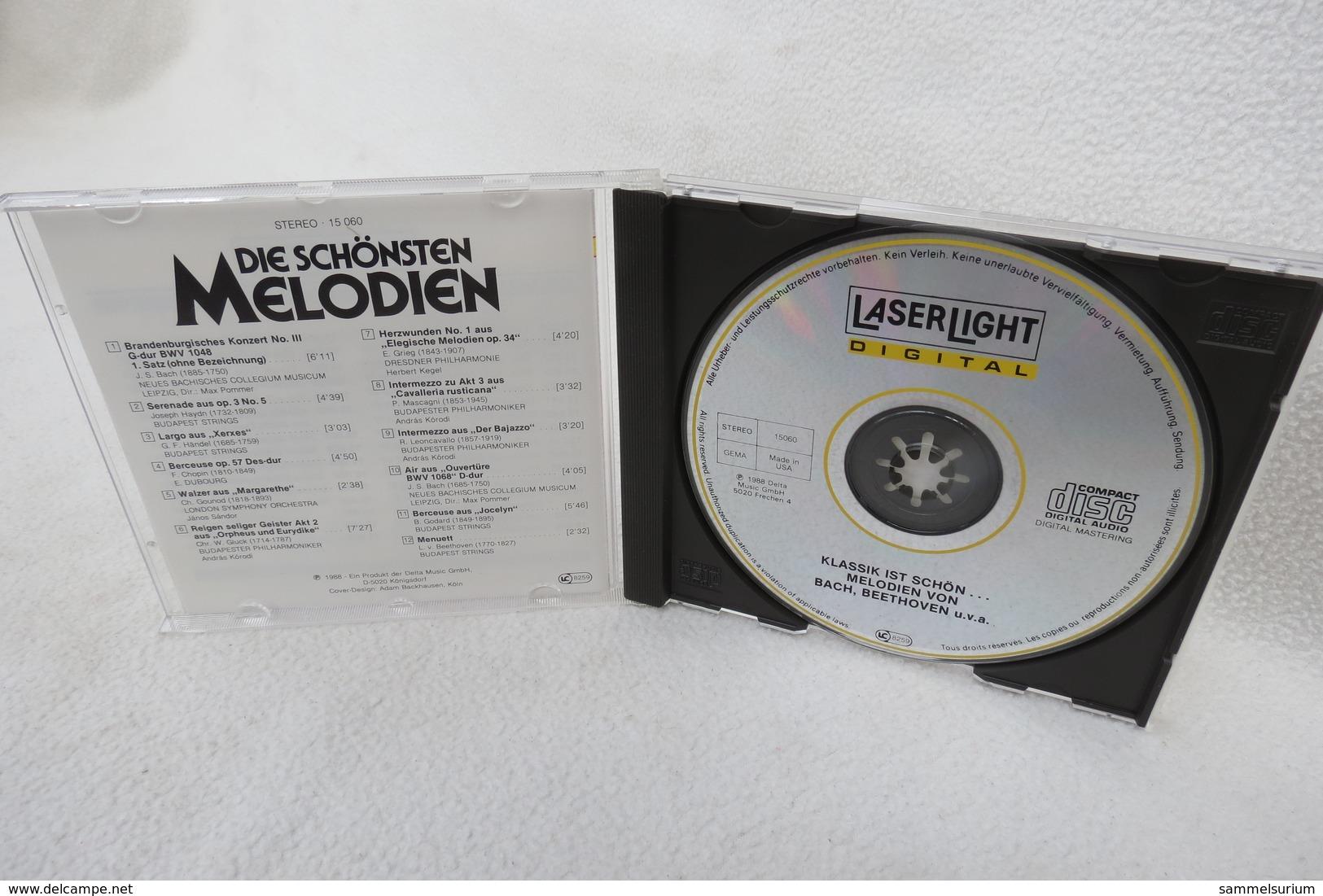 """CD """"Klassik Ist Schön, Die Schönsten Melodien Von..."""" Bach, Gluck, Haydn, Chopin, Beethoven, Händel U.a. - Klassik"""