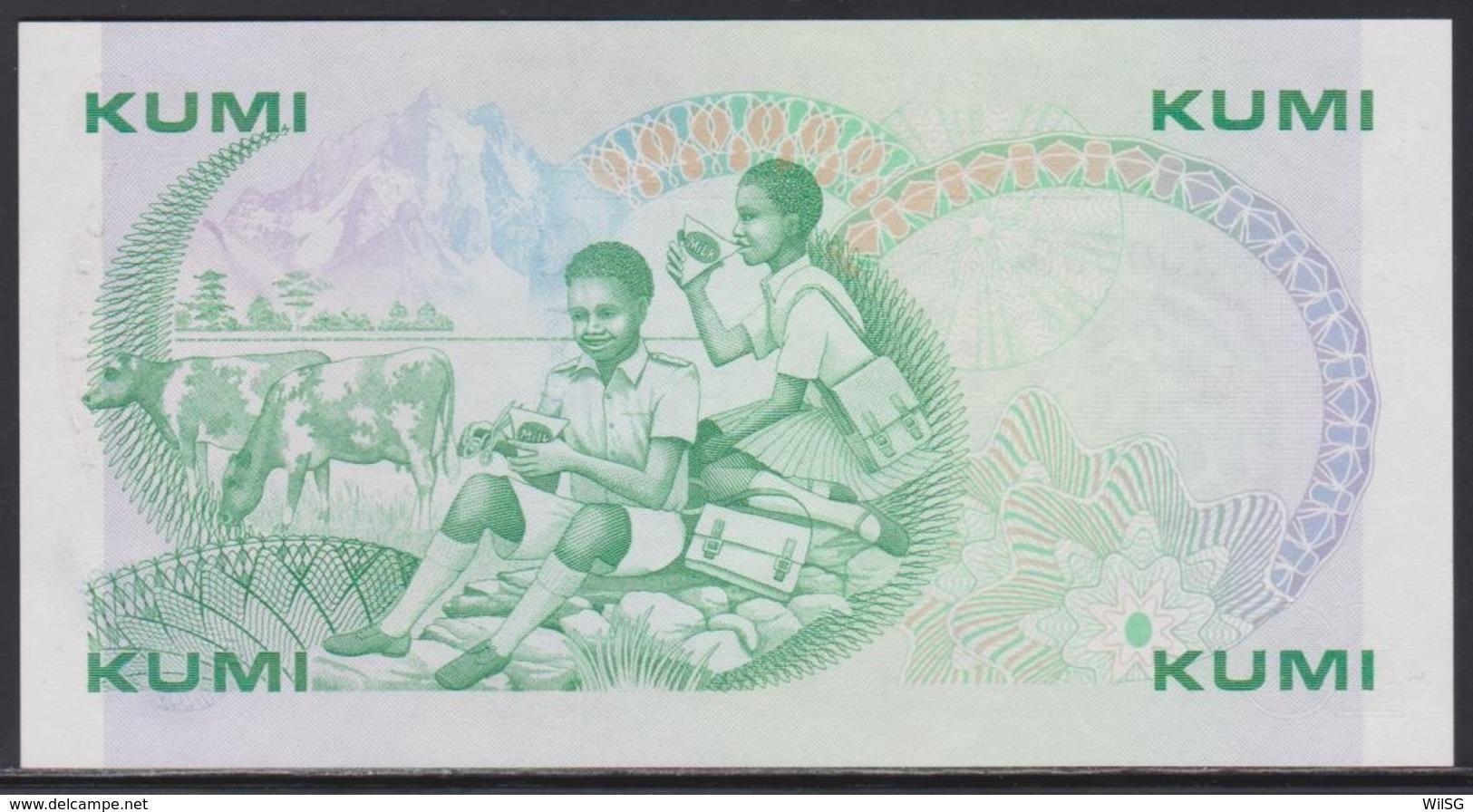 Kenia 10 Shillings 01.07.1988 UNC - Kenya