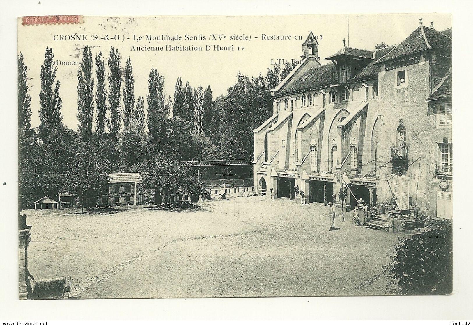 91 CROSNES LE MOULIN DE SENLIS ESSONNE - Crosnes (Crosne)