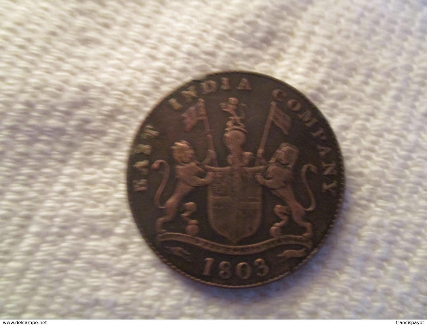 British India XX Cash East India Company - Inde