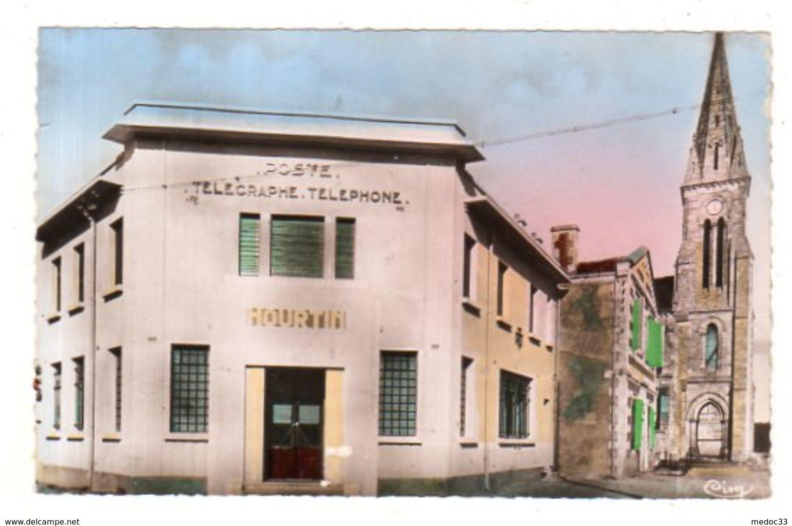 Dept 33,Gironde,Cpsm Hourtin,La Poste - Andere Gemeenten