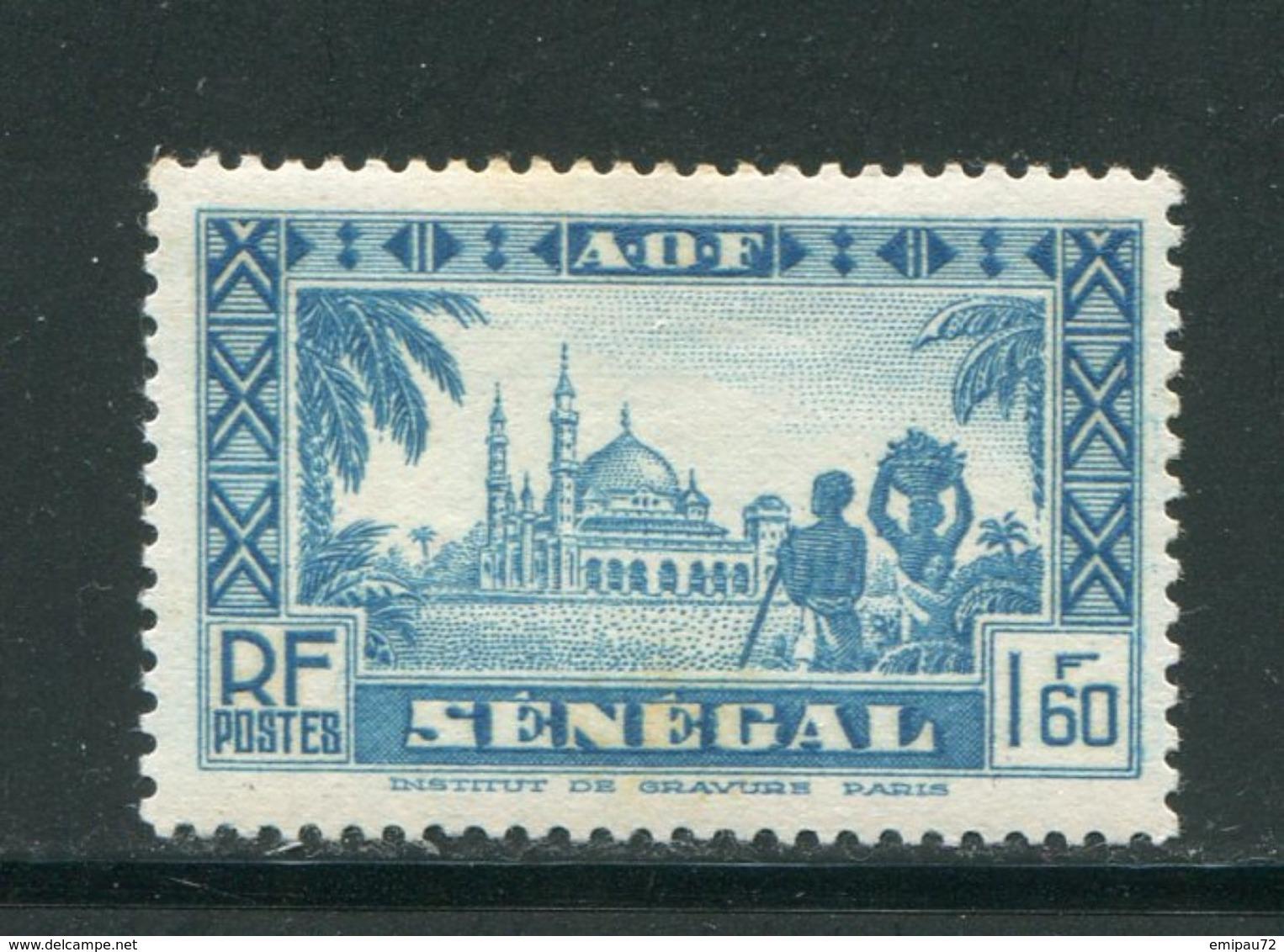 SENEGAL- Y&T N°167- Neuf Avec Charnière * - Sénégal (1887-1944)