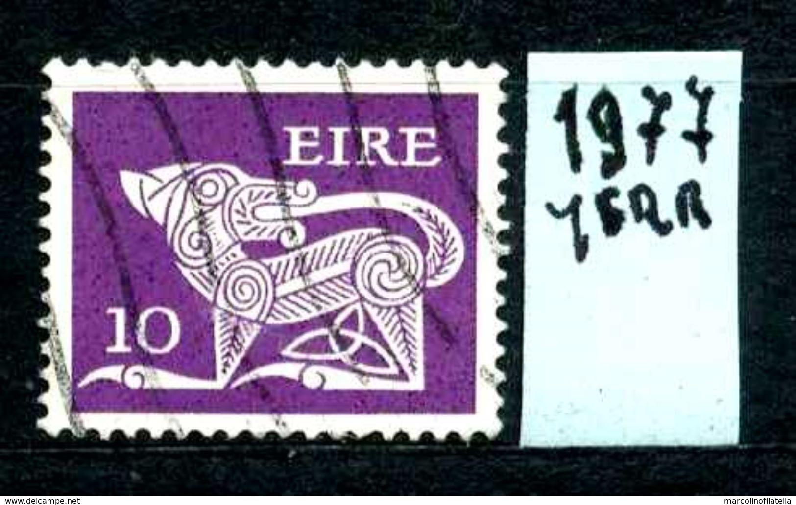EIRE - IRLANDA - Year  1977 - Usato -used - Utilisè - Gebraucht. - Usati