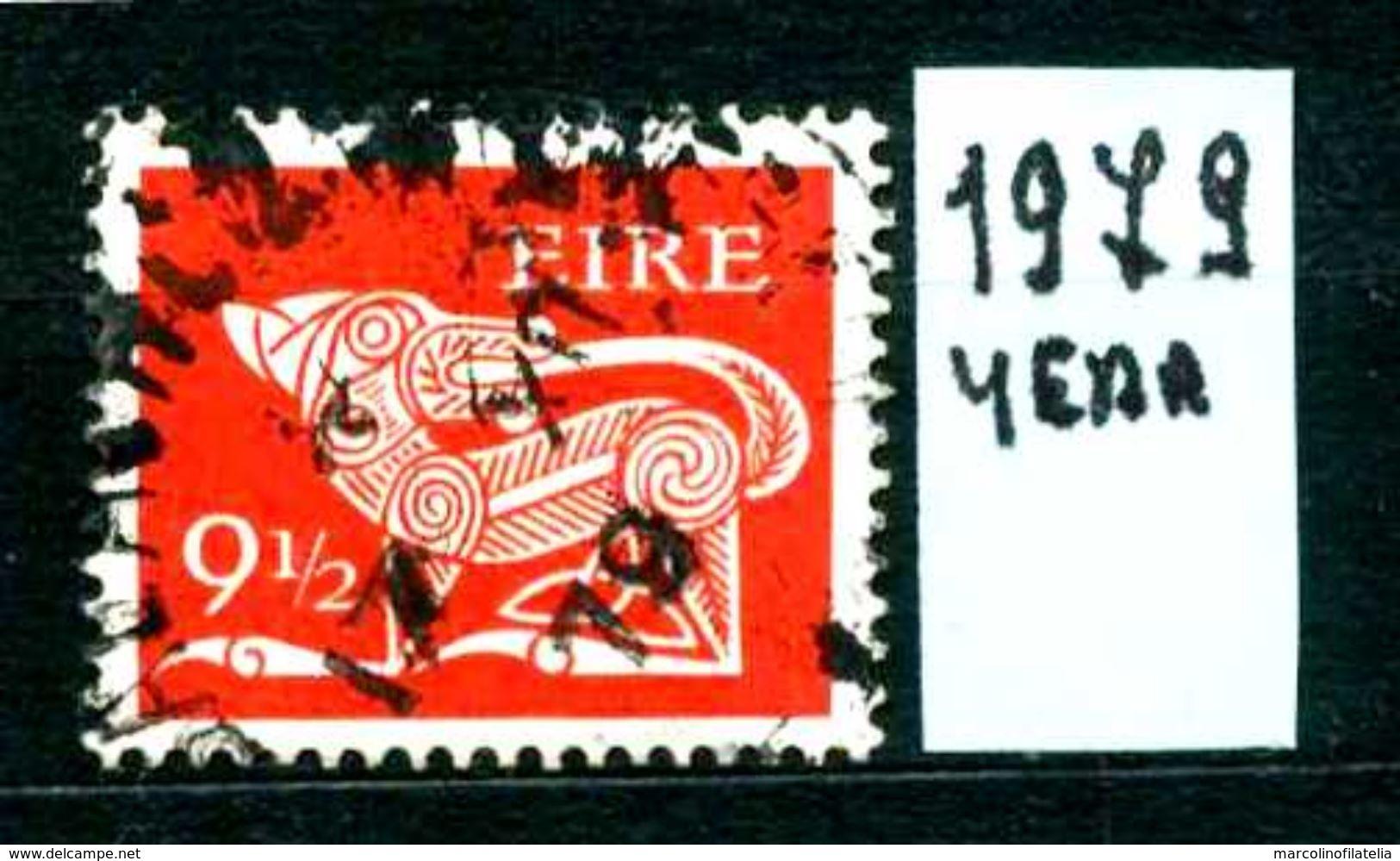 EIRE - IRLANDA - Year  1979 - Usato -used - Utilisè - Gebraucht. - Usati