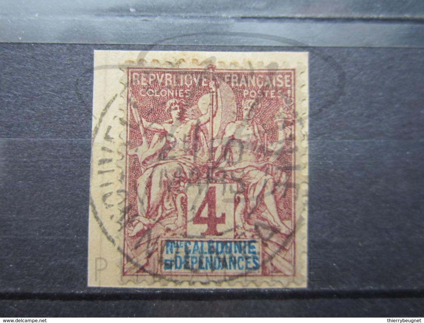 """VEND BEAU TIMBRE DE NOUVELLE-CALEDONIE N° 43 , OBLITERATION """" NOUMEA """" !!! - Nueva Caledonia"""