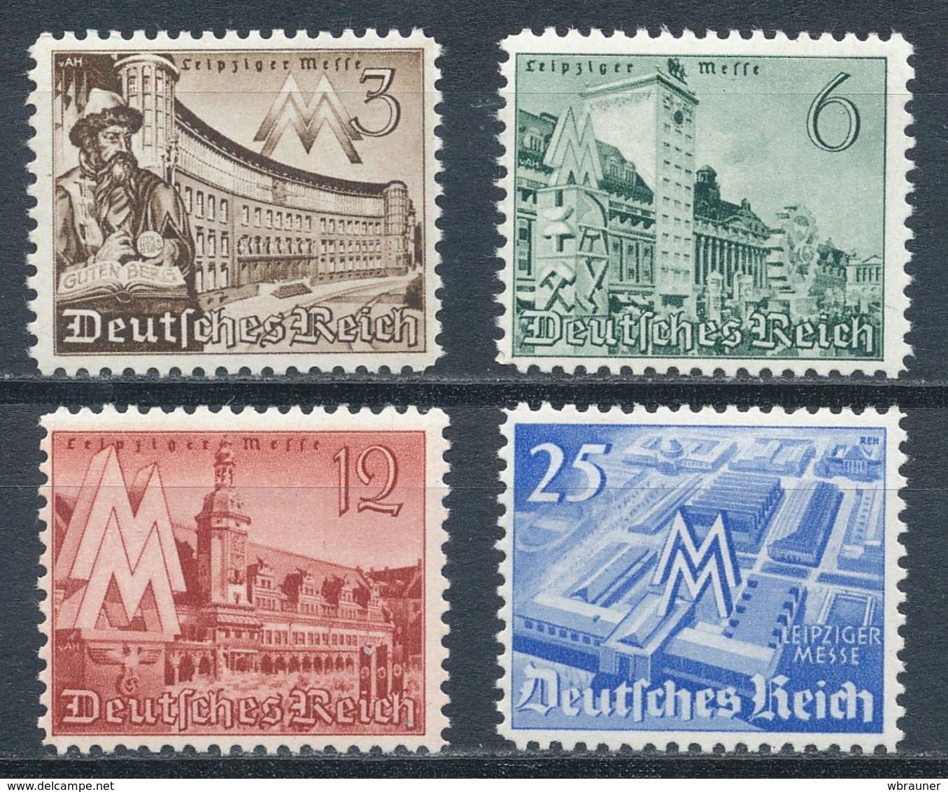 Deutsches Reich 739/42 ** Mi. 10,- - Germania