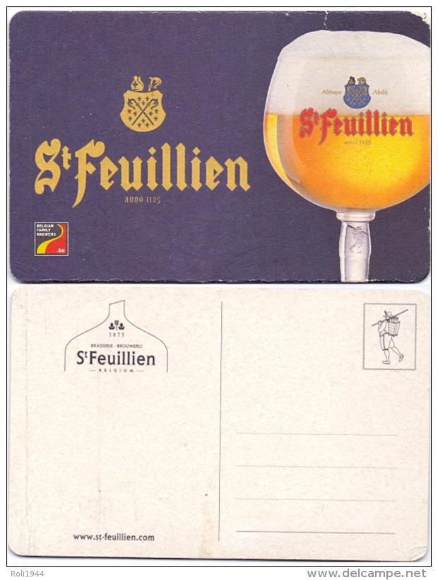 #D198-010 Viltje St.Feuillien - Sous-bocks