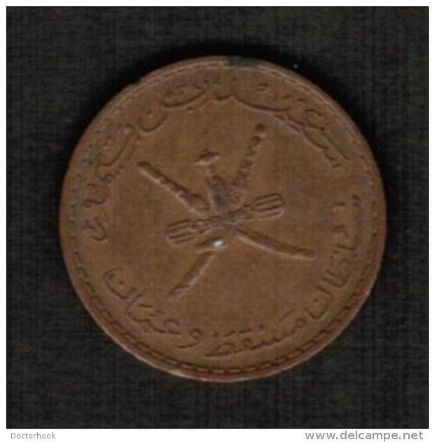 MUSCAT & OMAN   10 BAISA 1970 (AH 1390)  (KM # 38) #5086 - Oman