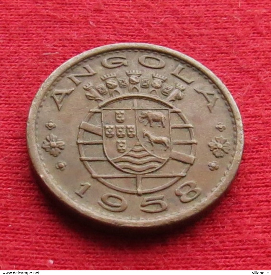 Angola  50 Centavos 1958 Wºº - Angola