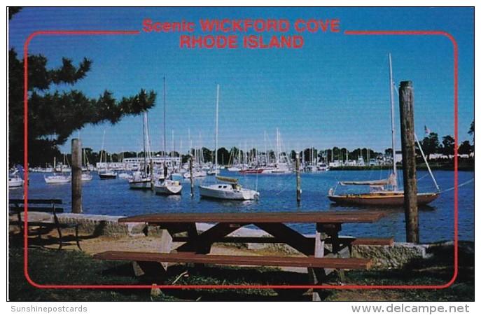 Rhode Island North Kingston Wickford Cove