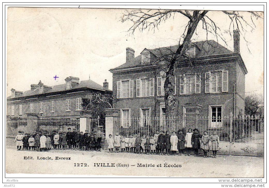 IVILLE  Mairie Et Ecoles   Edit Loncle Evreux - France