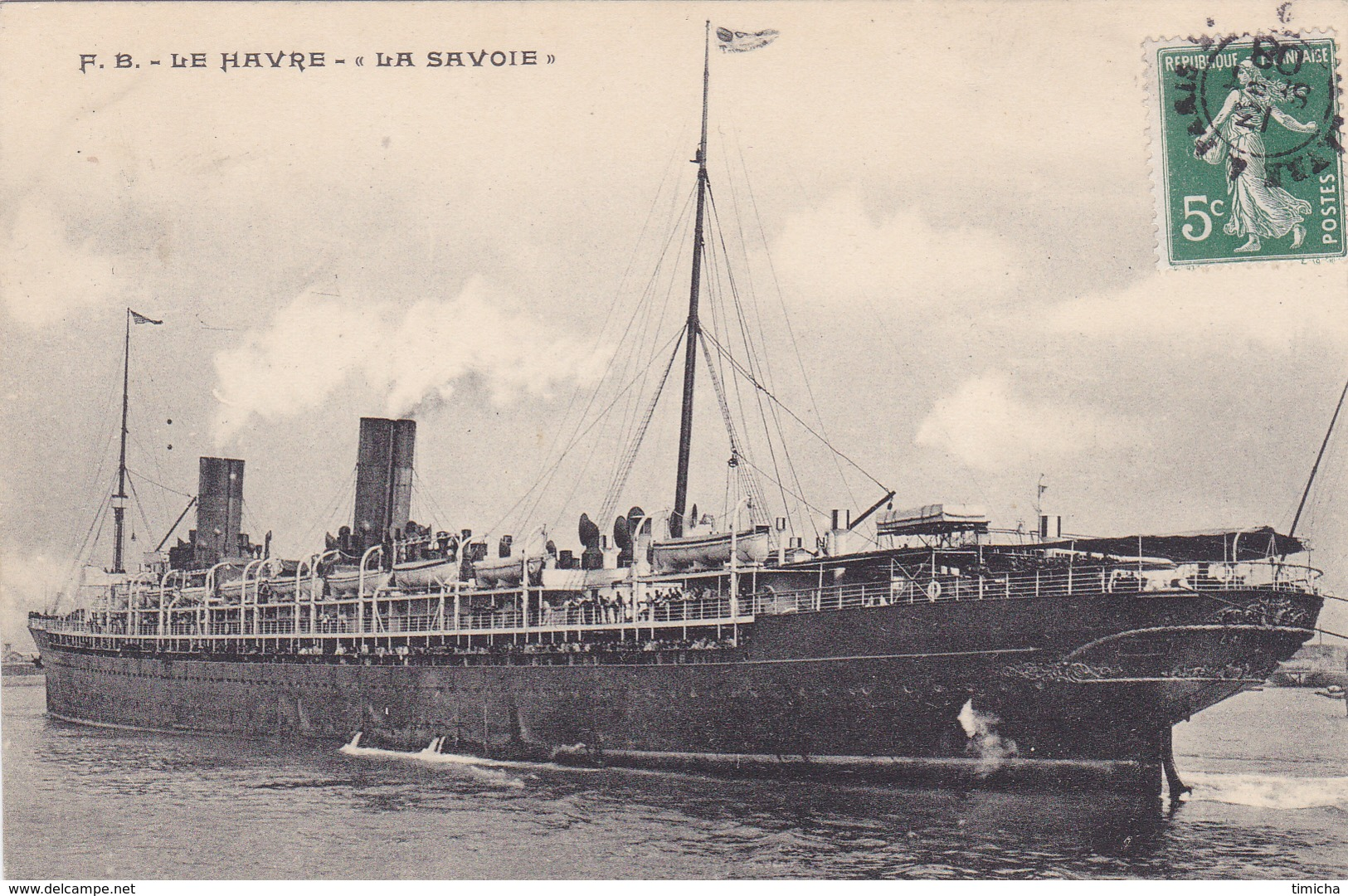 (37)   LE HAVRE - La Savoie - Le Havre