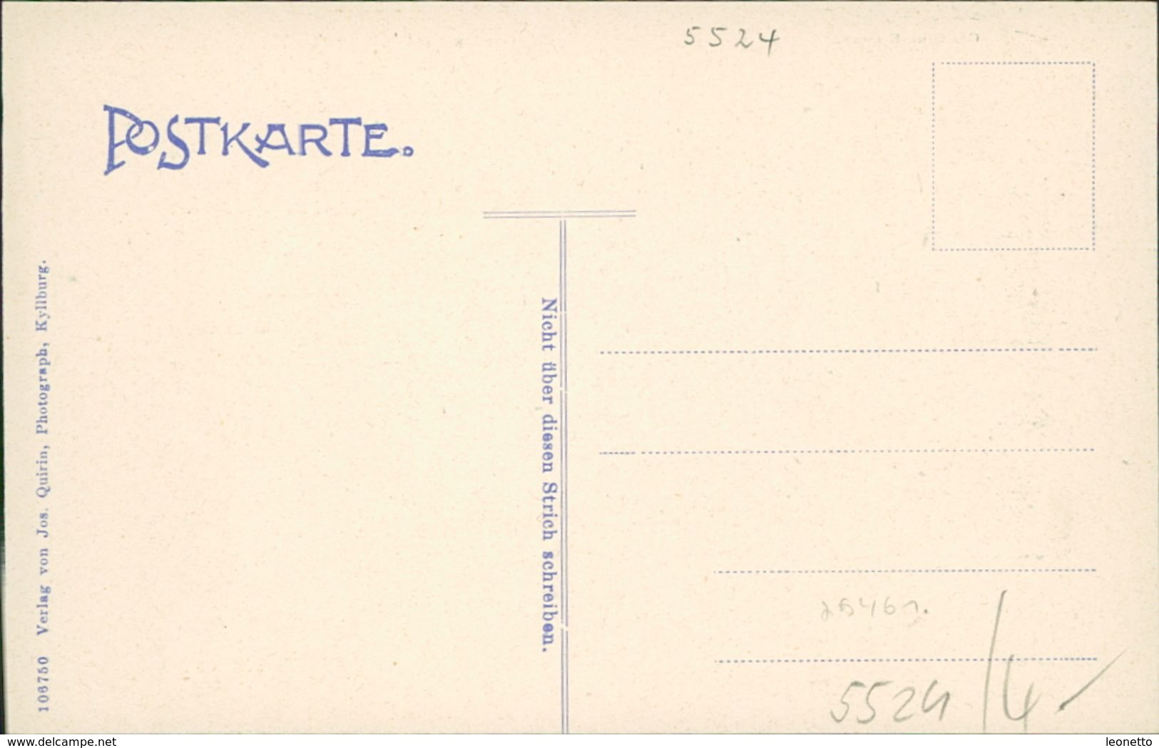 AK St. Thomas Bei Kyllburg Eifel, Gasthaus Erasmy, Kloster, Bahnhof, Um 1907 (29461) - Other