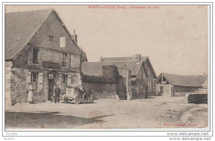 Forêt La Folie-L'Intérieur Du Pays.Photo.Lavergne Vernon. - Autres Communes