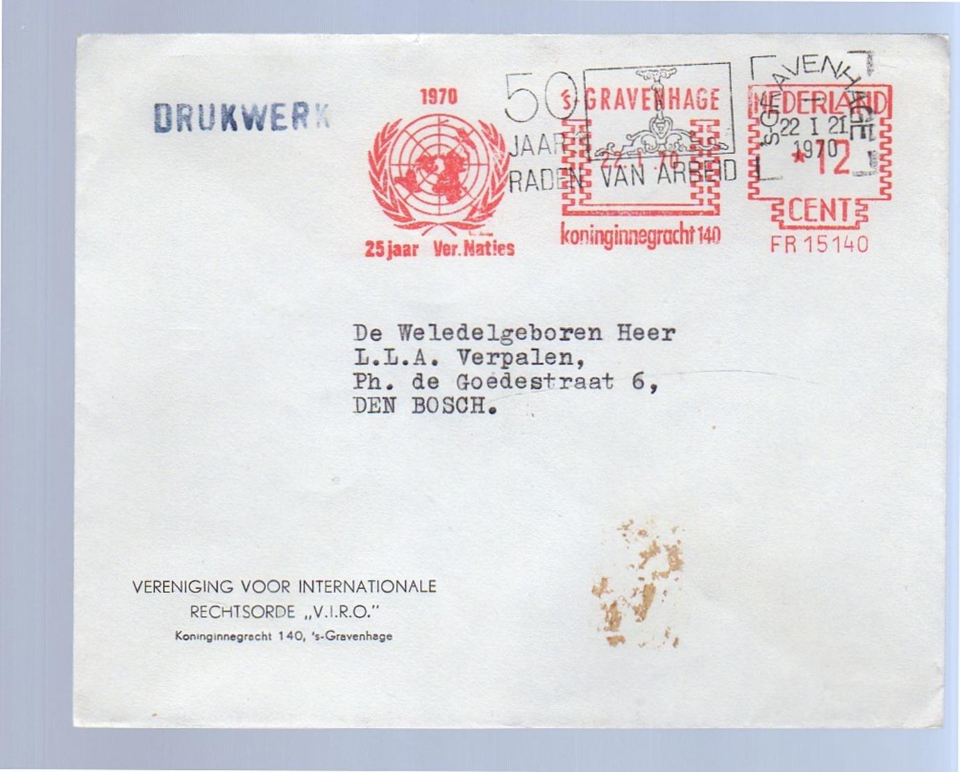 Rechtsorde VIRO > UNO 1970 &v Raden Van Arbeid > Verpalen (Esperanto-kenner) (BJ24) - 1949-1980 (Juliana)