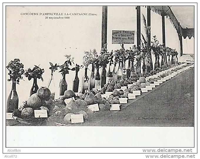 Concours D'Amfreville La Campagne-20 Septembre 1908. - Autres Communes