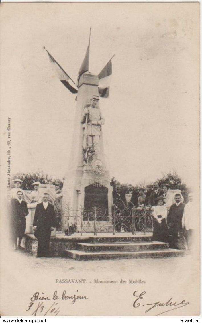 PASSAVANT - Monument Des Mobiles - Autres Communes