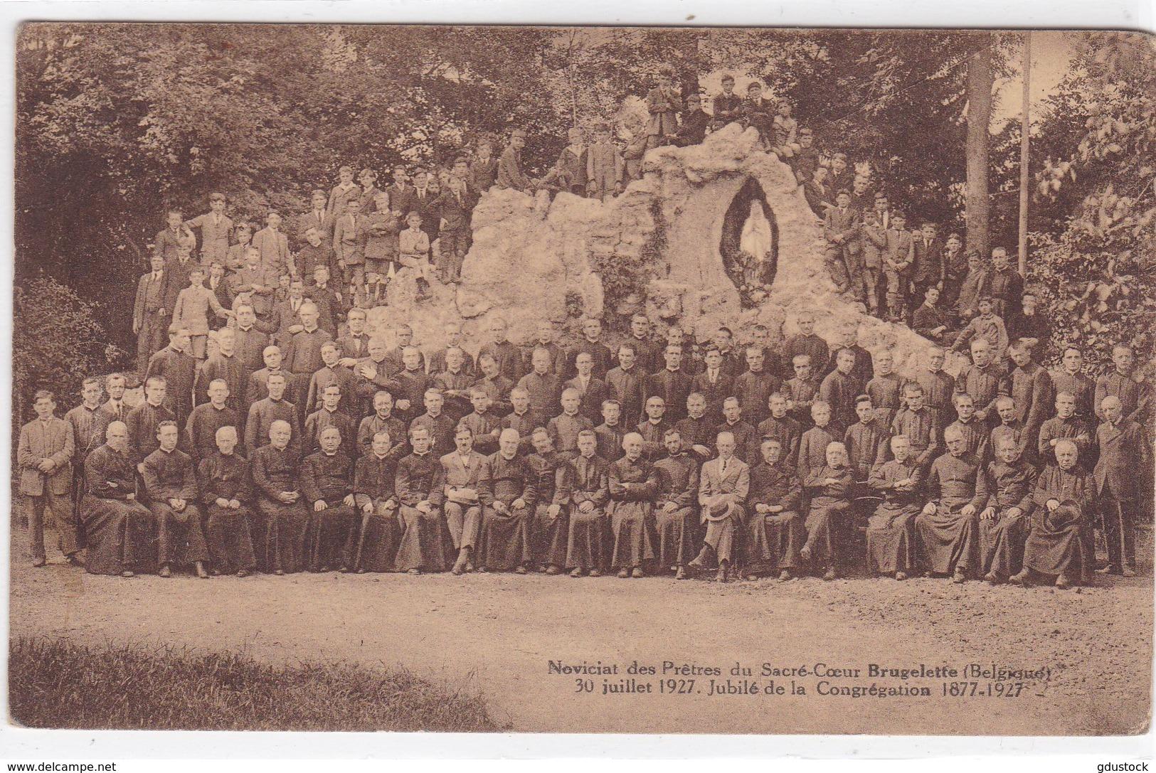 Belgique - Noviciat Des Prêtres Du Sacré-Coeur Brugelette - 30 Juillet 1927 - Jubilé De La Congrégation 1877-1927 - Brugelette