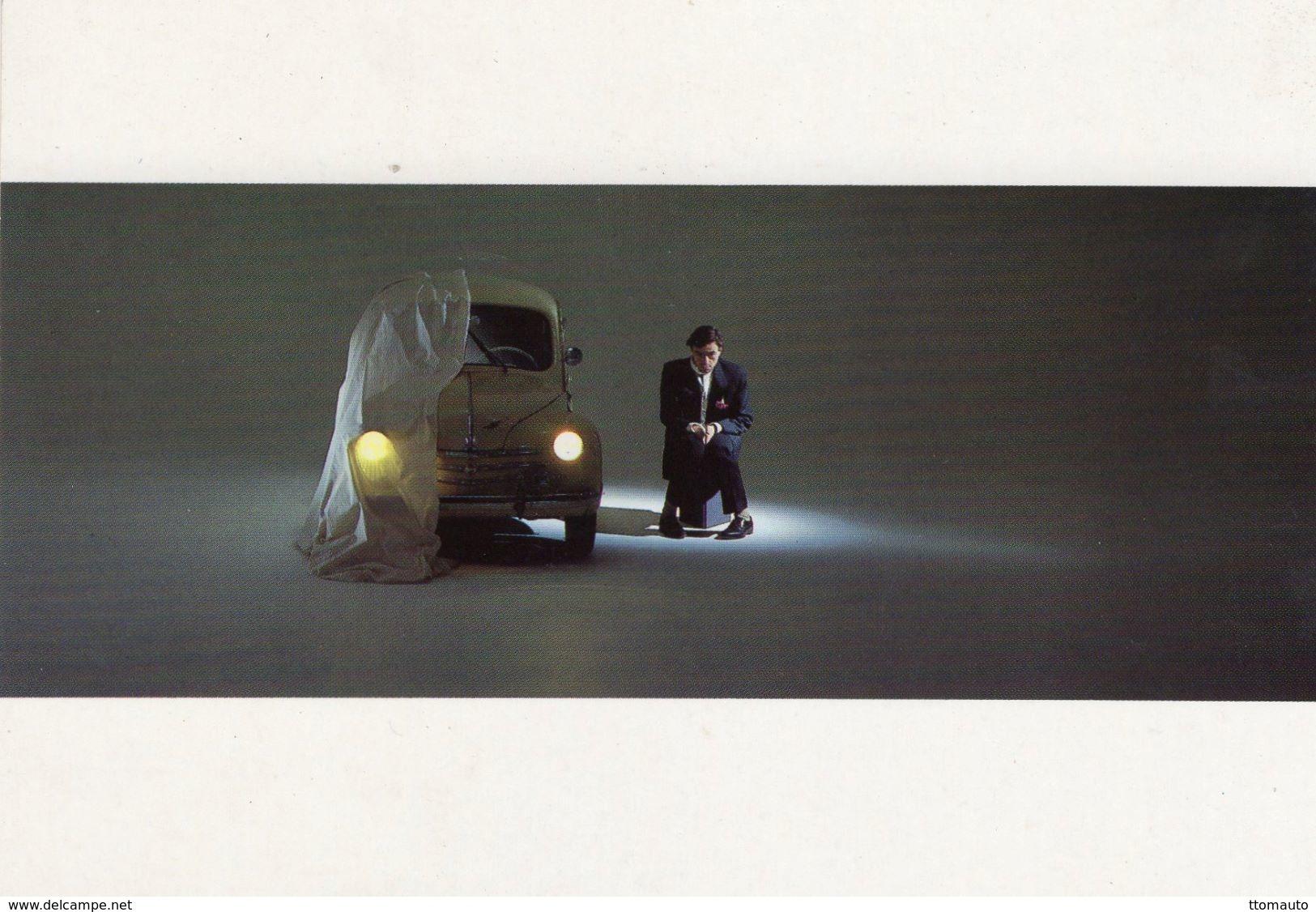Renault 4CV  -  Jean-Luc Dubin Photocarte  -  CPM - Turismo